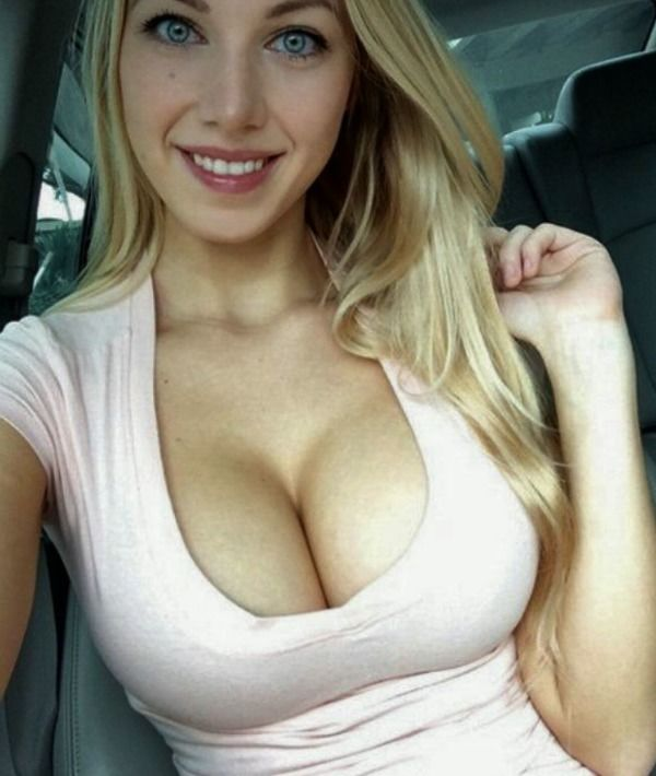 Blonde step sister let me cum in her pussy creampie 5