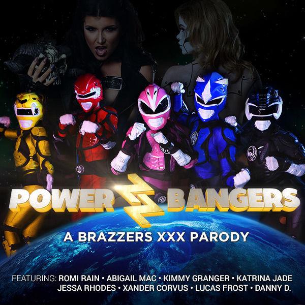 Power Bangers A Xxx Parody